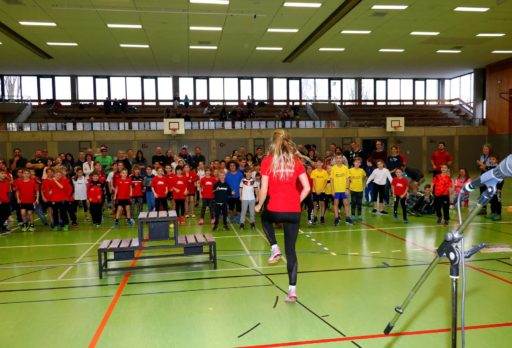 Sport in der Turnhalle